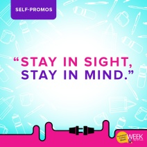 PPPW - Stay in sight, stay in mind (self-promos)