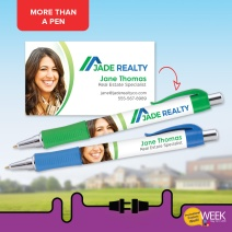 PPWW - Turn a pen into a business card (item #PHG)