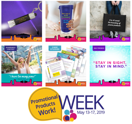 Celebrate Promotional Products Work! Week
