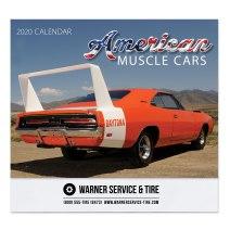 American Muscle Cars Wall Calendar (item# RWN).