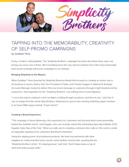 15_Simplicity Brothers Self-Promo Campaign_FINAL_Page_1